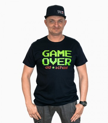 Game Over Old School T-shirt