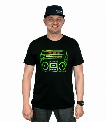 Boombox Old School T-shirt